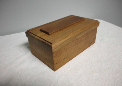 Solid Cherry Trinket Box